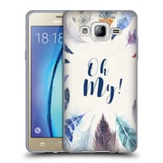 Official KRISTINA KVILIS FEATHERS Oh My Soft Gel Case for Samsung Galaxy On5 (C_1B7_1DE05)