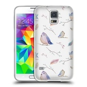 Official KRISTINA KVILIS BIRDS Pattern Soft Gel Case for Samsung Galaxy S5 / S5 Neo (C_AB_1DDDD)