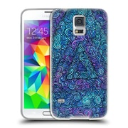 Official JOEL GRATTE COLOURS Triangle Squirm Soft Gel Case for Samsung Galaxy S5 / S5 Neo (C_AB_1E07B)