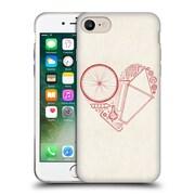 Official FLORENT BODART BIKES Love 2 Soft Gel Case for Apple iPhone 7 (C_1F9_1AF96)
