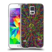 Official JOEL GRATTE COLOURS Rainbow Squigs Soft Gel Case for Samsung Galaxy S5 / S5 Neo (C_AB_1E07A)