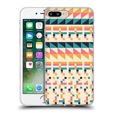 Official FLORENT BODART PATTERNS 2 Pixel Tribal Soft Gel Case for Apple iPhone 7 Plus (C_1FA_1AFC8)