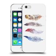 Official KRISTINA KVILIS FEATHERS Primary Soft Gel Case for Apple iPhone 5 / 5s / SE (C_D_1DDFD)