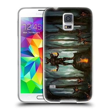 Official JOEL GRATTE ILLUSTRATION Demon Shrine Soft Gel Case for Samsung Galaxy S5 / S5 Neo (C_AB_1E07D)