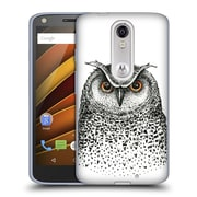 Official KRISTINA KVILIS BIRDS Owl 2 Soft Gel Case for DROID Turbo 2 / X Force (C_1C3_1DDDF)