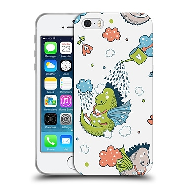 Official KRISTINA KVILIS PATTERN Fairytale Soft Gel Case for Apple iPhone 5 / 5s / SE (C_D_1DE13)
