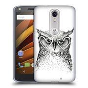 Official KRISTINA KVILIS BIRDS Owl 3 Soft Gel Case for DROID Turbo 2 / X Force (C_1C3_1DDE0)