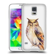 Official KRISTINA KVILIS BIRDS Owl Soft Gel Case for Samsung Galaxy S5 / S5 Neo (C_AB_1DDDE)