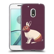 Official FLORENT BODART ANIMALS Rabbit White Westler Soft Gel Case for Motorola Moto G4 Play (C_1FB_1AF8A)