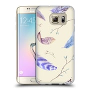 Official KRISTINA KVILIS FEATHERS Twigs Soft Gel Case for Samsung Galaxy S7 edge (C_1BA_1DDFB)