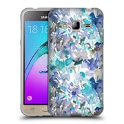 Official JACQUELINE MALDONADO PATTERNS Local Colour Mint Blue Soft Gel Case for Samsung Galaxy J3 (C_1B6_1BDF3)