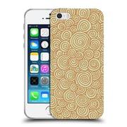 Official FLORENT BODART PATTERNS 2 Spiralsmain Soft Gel Case for Apple iPhone 5 / 5s / SE (C_D_1AFCA)