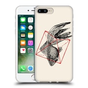 Official FLORENT BODART ANIMALS 2 Fish In Geometrics Soft Gel Case for Apple iPhone 7 Plus (C_1FA_1AF8E)