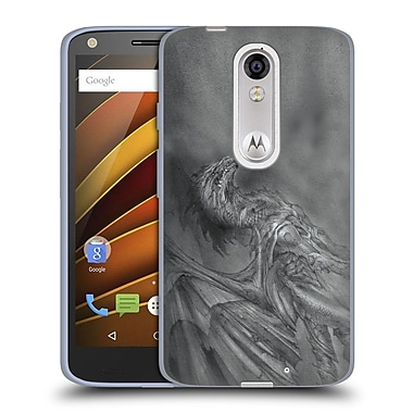 Official LA WILLIAMS DRAGONS Maelstrom Soft Gel Case for DROID Turbo 2 / X Force (C_1C3_1D578)