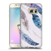 Official KRISTINA KVILIS FEATHERS Flying Soft Gel Case for Samsung Galaxy S7 edge (C_1BA_1DE02)