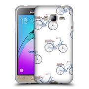 Official KRISTINA KVILIS PATTERN Bike Soft Gel Case for Samsung Galaxy J3 (C_1B6_1DE15)