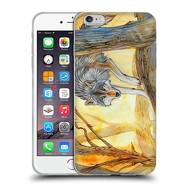 Official EXILEDEN CANINE Wolf Watercolour Soft Gel Case for Apple iPhone 6 Plus / 6s Plus (C_10_1C83D)