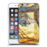 Official EXILEDEN CANINE Wolf Watercolour Soft Gel Case for Apple iPhone 6 Plus / 6s Plus (C_10_1C83D)