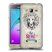 Official KRISTINA KVILIS TYPOGRAPHY Leon Soft Gel Case for Samsung Galaxy J3 (C_1B6_1DE22)