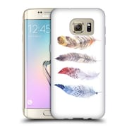 Official KRISTINA KVILIS FEATHERS Primary Soft Gel Case for Samsung Galaxy S7 edge (C_1BA_1DDFD)