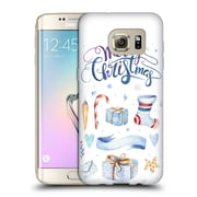 Official KRISTINA KVILIS CHRISTMAS Presents Soft Gel Case for Samsung Galaxy S7 edge (C_1BA_1DDEC)