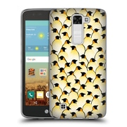 Official FLORENT BODART PATTERNS 2 Penguins Soft Gel Case for LG K7 K330 / Tribute 5 (C_1BE_1AFC7)