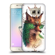 "Official JONAS ""JOJOESART"" JoDICKE WILDLIFE Fox Coloured Soft Gel Case for Samsung Galaxy S7 edge (C_1BA_1DBCF)"