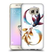 "Official JONAS ""JOJOESART"" JoDICKE WILDLIFE Eternal Bond Koi Soft Gel Case for Samsung Galaxy S7 edge (C_1BA_1DBCB)"