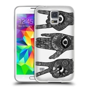 Official JOEL GRATTE BLACK AND WHITE Three Amigos Soft Gel Case for Samsung Galaxy S5 / S5 Neo (C_AB_1E076)