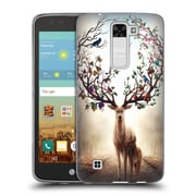 "Official JONAS ""JOJOESART"" JoDICKE WILDLIFE Seasons Soft Gel Case for LG K7 K330 / Tribute 5 (C_1BE_1DBD3)"