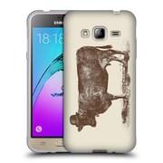 Official FLORENT BODART ANIMALS 2 Cow Cow Nut Soft Gel Case for Samsung Galaxy J3 (C_1B6_1AF8B)