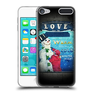 Official JOEL CHRISTOPHER PAYNE HOLIDAY SEASON Love Keeps You Warm Soft Gel Case for Apple iPod Touch 6G 6th Gen (C_157_1B3F1)