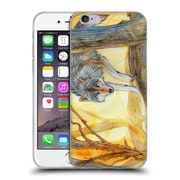 Official EXILEDEN CANINE Wolf Watercolour Soft Gel Case for Apple iPhone 6 / 6s (C_F_1C83D)