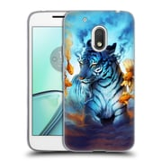 "Official JONAS ""JOJOESART"" JoDICKE BIG CATS Tiger Fish Soft Gel Case for Motorola Moto G4 Play (C_1FB_1DBC0)"