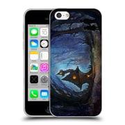 Official JOEL GRATTE ILLUSTRATION House In The Woods Soft Gel Case for Apple iPhone 5c (C_E_1E081)