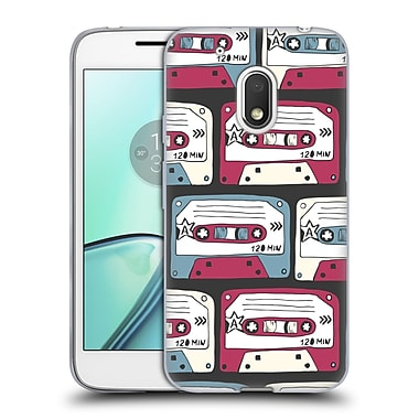 Official KRISTINA KVILIS PATTERN Rock 2 Soft Gel Case for Motorola Moto G4 Play (C_1FB_1DE19)