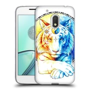 "Official JONAS ""JOJOESART"" JoDICKE BIG CATS Inner Balance Soft Gel Case for Motorola Moto G4 Play (C_1FB_1DBBD)"