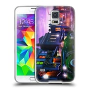 Official JOEL CHRISTOPHER PAYNE ENCHANTED PLACES Midnight Delivery Soft Gel Case for Samsung Galaxy S5 / S5 Neo (C_AB_1B3E5)
