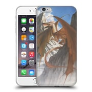 Official LA WILLIAMS DRAGONS Ancient Refuge Colour Soft Gel Case for Apple iPhone 6 Plus / 6s Plus (C_10_1D573)