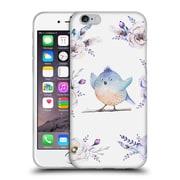 Official KRISTINA KVILIS BIRDS Bohemian Floral Bouquets 3 Soft Gel Case for Apple iPhone 6 / 6s (C_F_1DDD9)