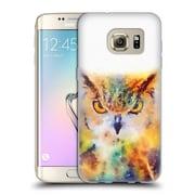 Official JACQUELINE MALDONADO ANIMALS The Wise Soft Gel Case for Samsung Galaxy S7 edge (C_1BA_1BDE5)