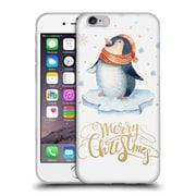 Official KRISTINA KVILIS CHRISTMAS Penguin Soft Gel Case for Apple iPhone 6 / 6s (C_F_1DDE3)