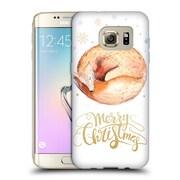 Official KRISTINA KVILIS CHRISTMAS Fox Soft Gel Case for Samsung Galaxy S7 edge (C_1BA_1DDE8)