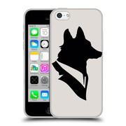 Official FLORENT BODART ANIMALS Monsieur Renard Soft Gel Case for Apple iPhone 5c (C_E_1AF89)