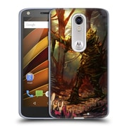 Official JOEL GRATTE ILLUSTRATION Wooden Knight Soft Gel Case for DROID Turbo 2 / X Force (C_1C3_1E086)