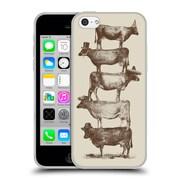 Official FLORENT BODART ANIMALS 2 Cow Cow Nuts Big Soft Gel Case for Apple iPhone 5c (C_E_1AF8C)