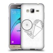Official FLORENT BODART BIKES Love Soft Gel Case for Samsung Galaxy J3 (C_1B6_1AF97)