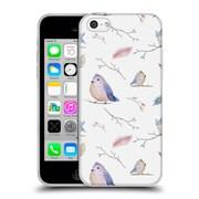 Official KRISTINA KVILIS BIRDS Pattern Soft Gel Case for Apple iPhone 5c (C_E_1DDDD)