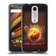 Official JOEL CHRISTOPHER PAYNE LOVE Peach Soft Gel Case for DROID Turbo 2 / X Force (C_1C3_1B3F7)