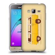 Official FLORENT BODART VEHICLES Yellow Van Soft Gel Case for Samsung Galaxy J3 (C_1B6_1AFDD)